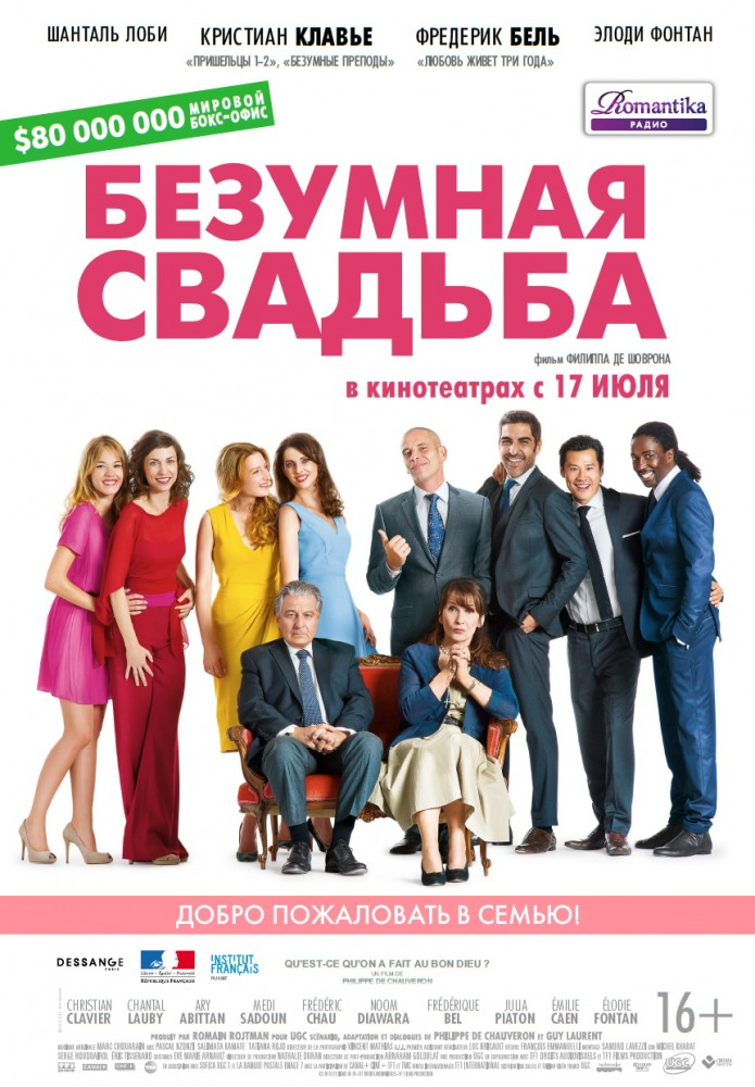 Фильм Самая безумная свадьба (Франция, 2019) смотреть ...