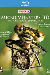 Смотреть Микромонстры 3D с Дэвидом Аттенборо онлайн в HD качестве
