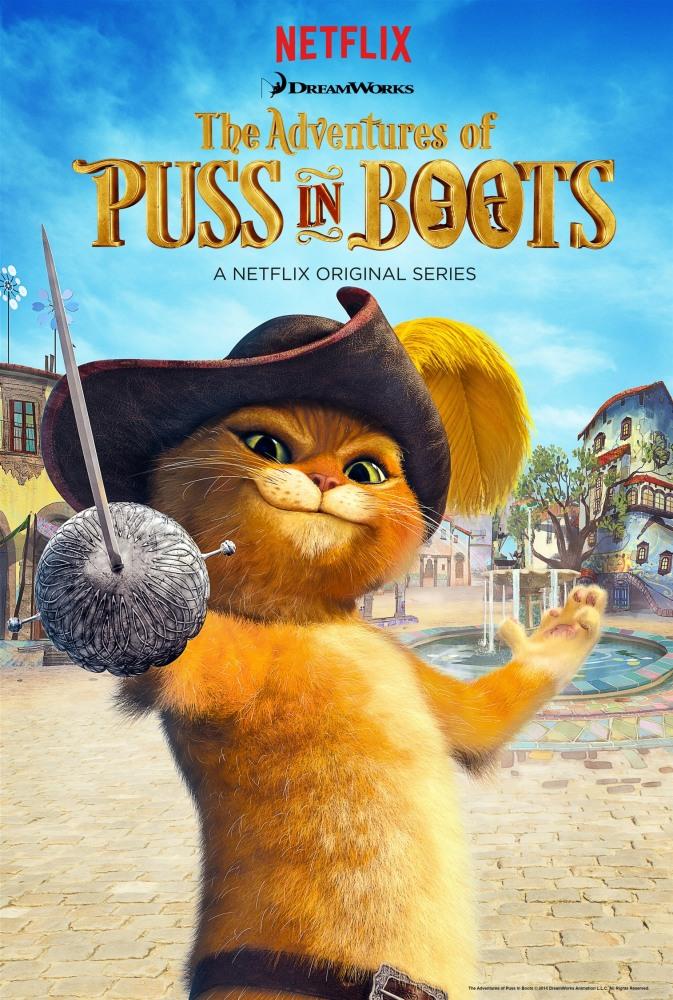 смотреть мультфильм приключения кота в сапогах онлайн в хорошем