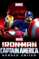 Смотреть Железный человек и Капитан Америка: Союз героев онлайн в HD качестве