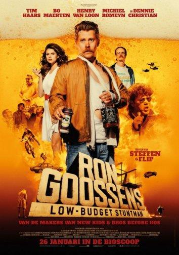 Смотреть Рон Госсенс, низкобюджетный каскадёр онлайн в HD качестве 720p