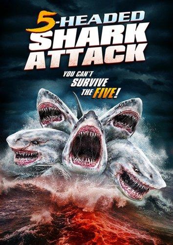 Смотреть Нападение пятиглавой акулы онлайн в HD качестве 720p