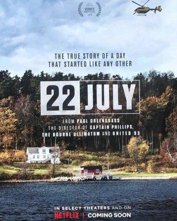 Смотреть 22 июля онлайн в HD качестве 720p