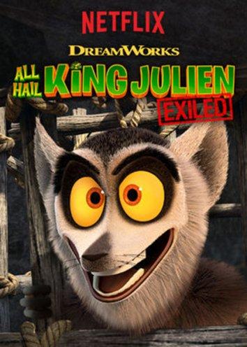Смотреть Да здравствует король Джулиан: Изгнанный онлайн в HD качестве 720p