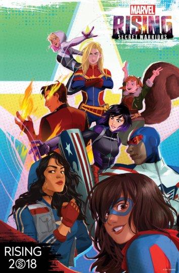 Смотреть Восход Marvel: Тайные воины онлайн в HD качестве 720p