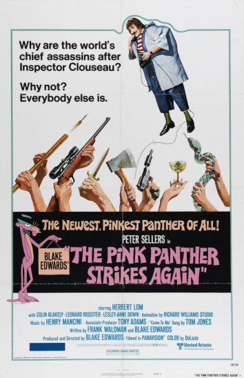 Смотреть Розовая пантера наносит ответный удар онлайн в HD качестве 720p