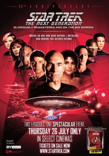 Смотреть Звездный путь: Следующее поколение онлайн в HD качестве 720p