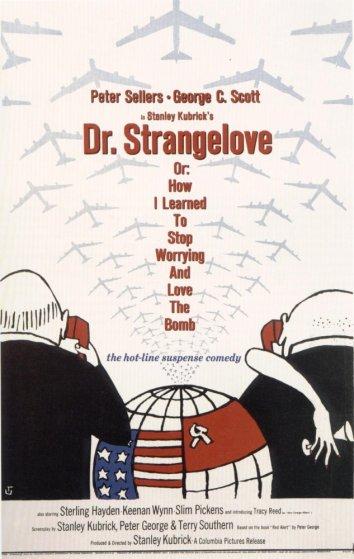 Смотреть Доктор Стрейнджлав, или Как я научился не волноваться и полюбил атомную бомбу онлайн в HD качестве 720p