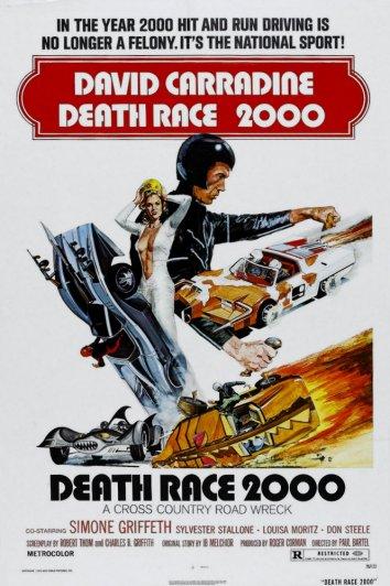 Смотреть Смертельные гонки 2000 года онлайн в HD качестве 720p
