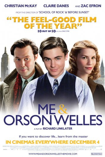 Смотреть Я и Орсон Уэллс онлайн в HD качестве 720p