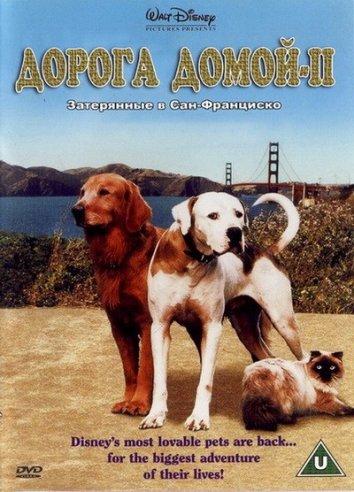 Смотреть Дорога домой 2: Затерянные в Сан-Франциско онлайн в HD качестве 720p