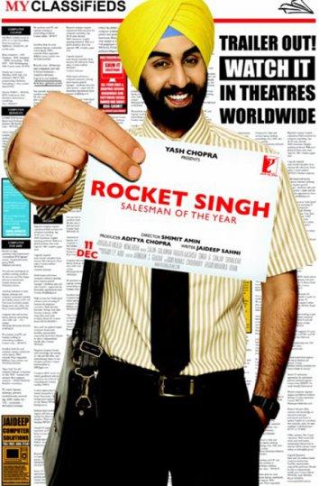 Смотреть Рокет Сингх: Продавец года онлайн в HD качестве 720p