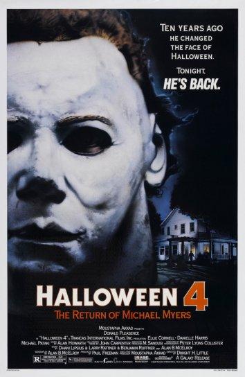 Смотреть Хэллоуин 4: Возвращение Майкла Майерса онлайн в HD качестве 720p