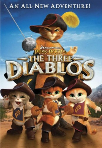 Смотреть Кот в сапогах: Три Чертенка онлайн в HD качестве 720p