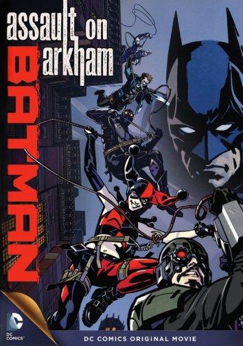 Смотреть Бэтмен: Нападение на Аркхэм онлайн в HD качестве 720p