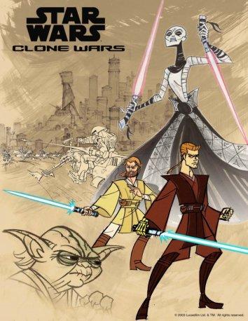 Смотреть Клонические войны / Звездные Войны: Войны Клонов онлайн в HD качестве 720p