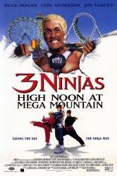 Смотреть Три ниндзя: Жаркий полдень на горе Мега онлайн в HD качестве