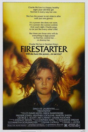 Смотреть Порождающая огонь / Воспламеняющая взглядом онлайн в HD качестве 720p