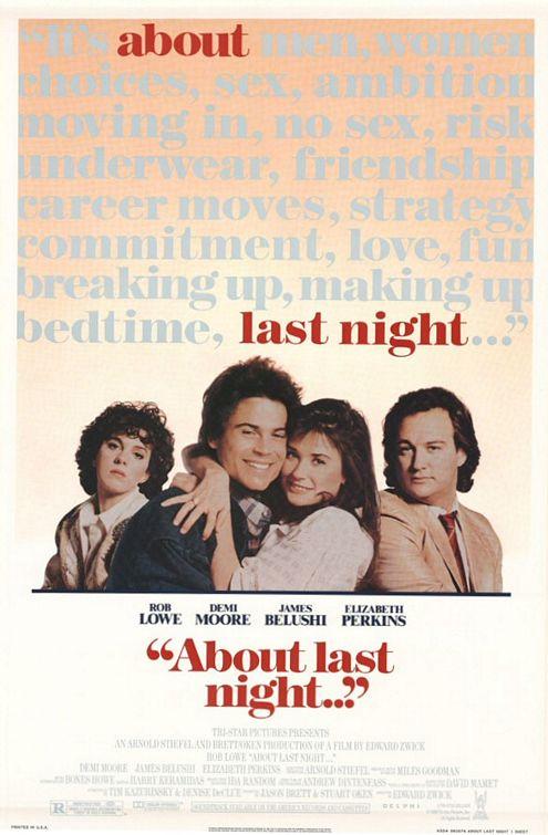 Эротические Воспоминания Деми Мур – Что Случилось Прошлой Ночью (1986)