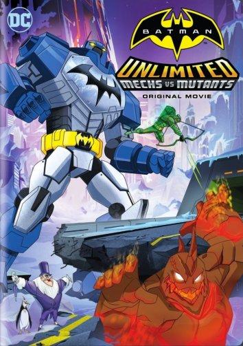 Смотреть Безграничный Бэтмен: Роботы против мутантов онлайн в HD качестве 720p