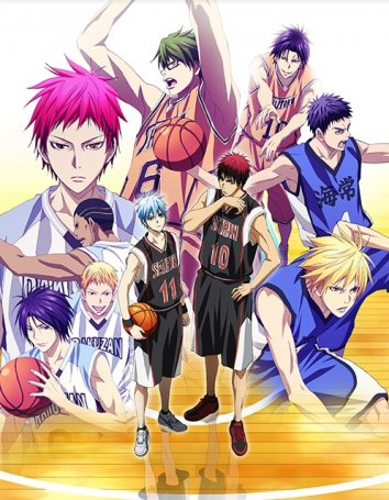 Смотреть Баскетбол Куроко [ТВ-3] онлайн в HD качестве 720p