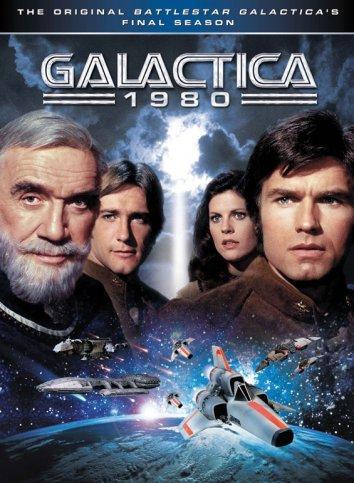 Смотреть Звездный крейсер Галактика 1980 онлайн в HD качестве 720p