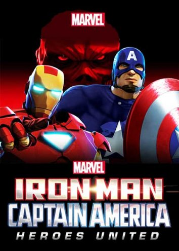 Смотреть Железный человек и Капитан Америка: Союз героев онлайн в HD качестве 720p