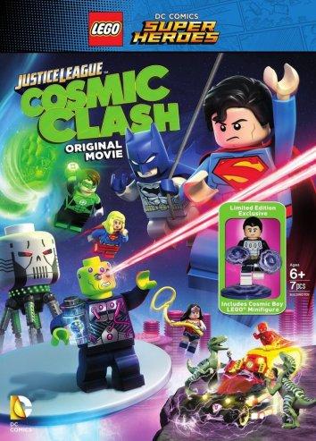 Смотреть LEGO Супергерои DC: Лига Справедливости – Космическая битва онлайн в HD качестве 720p