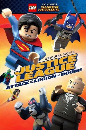 Смотреть LEGO Супергерои DC Comics – Лига Справедливости: Атака Легиона Гибели онлайн в HD качестве 720p