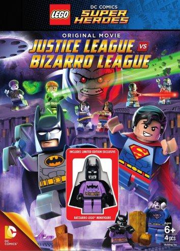 Смотреть LEGO супергерои DC: Лига справедливости против Лиги Бизарро онлайн в HD качестве 720p