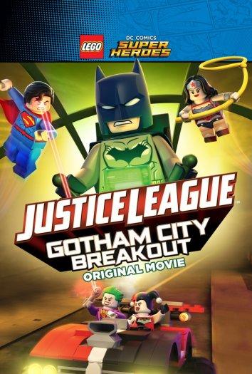 Смотреть LEGO супергерои DC: Лига справедливости – Прорыв Готэм-сити онлайн в HD качестве 720p
