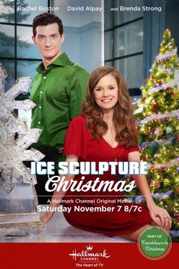 Смотреть Ледяная скульптура Рождества онлайн в HD качестве 720p