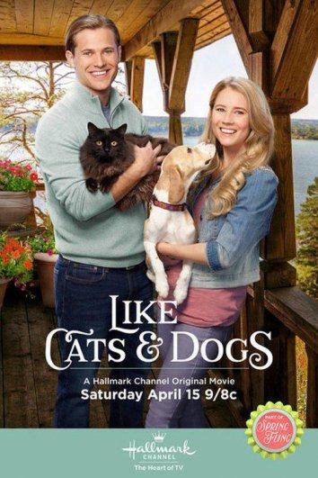 Смотреть Как кошка с собакой онлайн в HD качестве 720p
