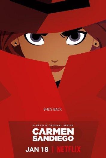 Смотреть Кармен Сандиего онлайн в HD качестве 720p