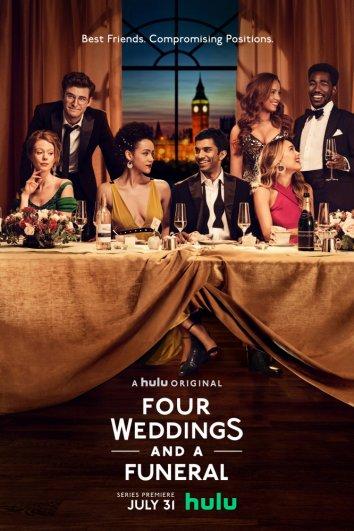 Смотреть Четыре свадьбы и одни похороны онлайн в HD качестве 720p