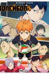 Смотреть Волейбол!! [ТВ-2] онлайн в HD качестве 720p