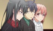 """Смотреть все части аниме """"как и ожидалось, моя подростковая романтическая комедия не складывается"""" онлайн в HD качестве"""