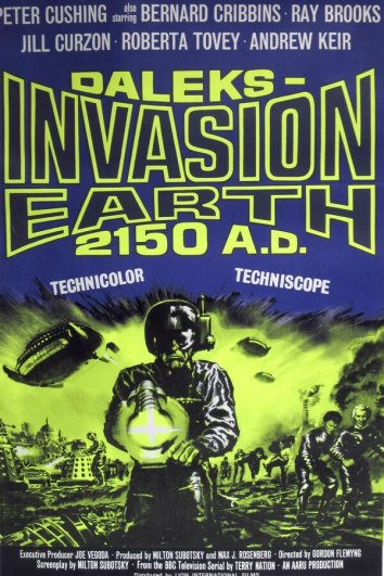 Смотреть Вторжение Далеков на Землю онлайн в HD качестве 720p