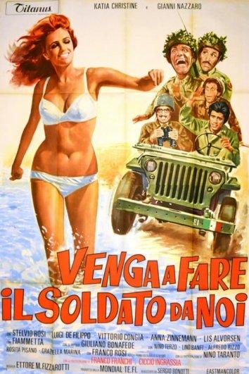 Смотреть Николетта идет в армию онлайн в HD качестве 720p